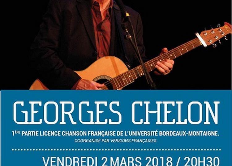 Georges Chelon - Chanson Française à Ambares et Lagrave