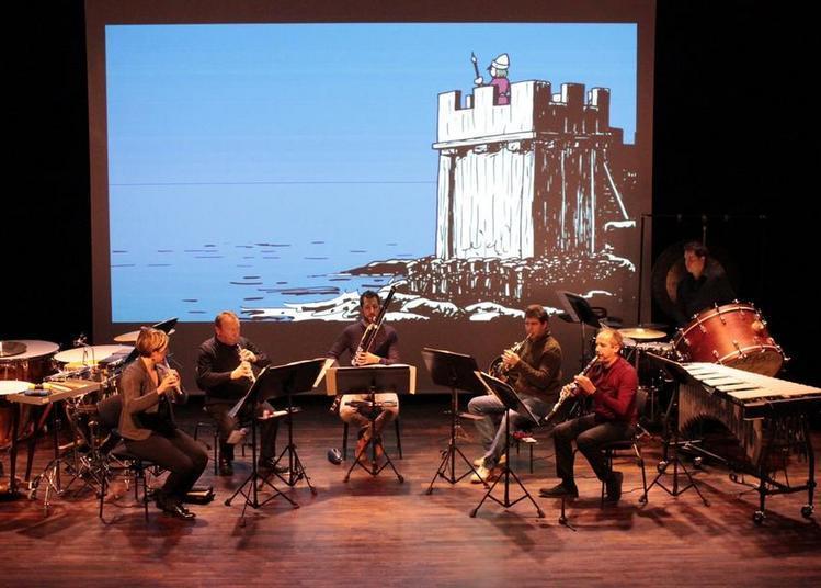 BD concert : Histoires de la Normandie illustrées à Herouville saint Clair