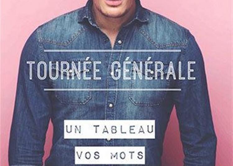 Gérémy Crédeville Dans Tournée Générale à Rouen