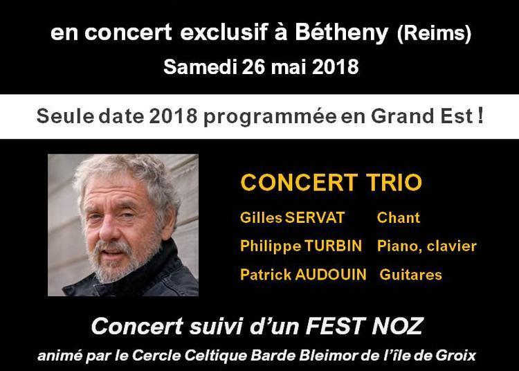 Gilles Servat concert Trio à Betheny