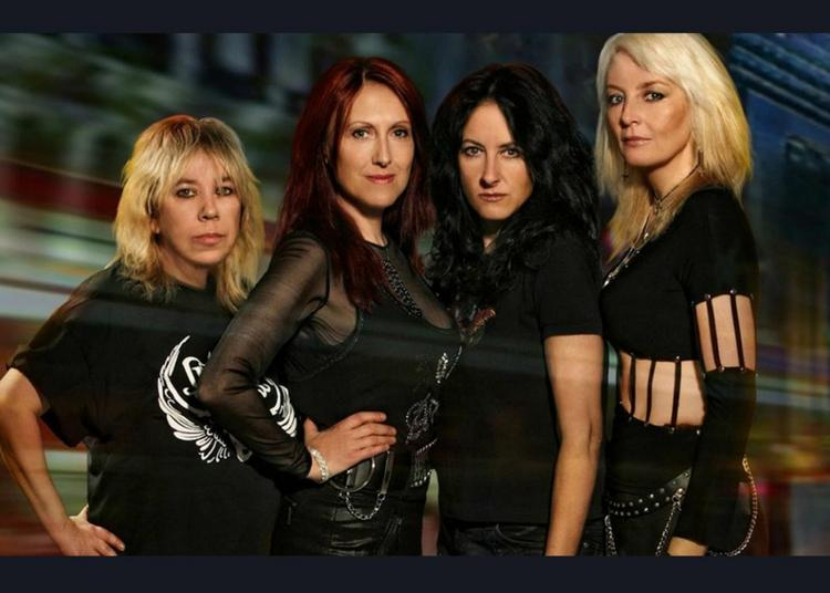 Girlschool   Alcatrazz à Vaureal