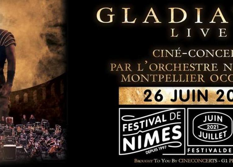Gladiator Live ciné-concert à Nimes