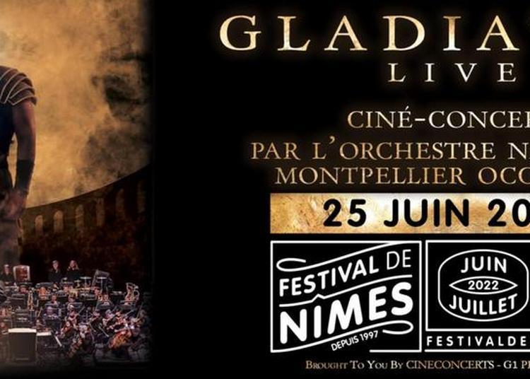 Gladiator Live ciné-concert - report à Nimes