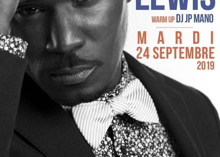 Glenn Lewis En Live ! à Paris 10ème