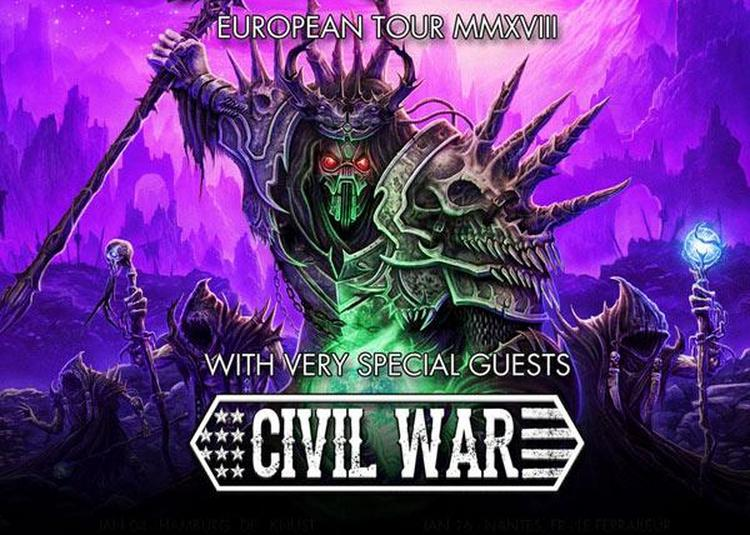 Gloryhammer + Civil War à Paris 13ème