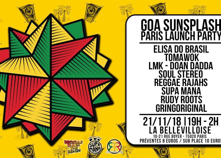 Goa Sunsplah - Launch Party à Paris 20ème