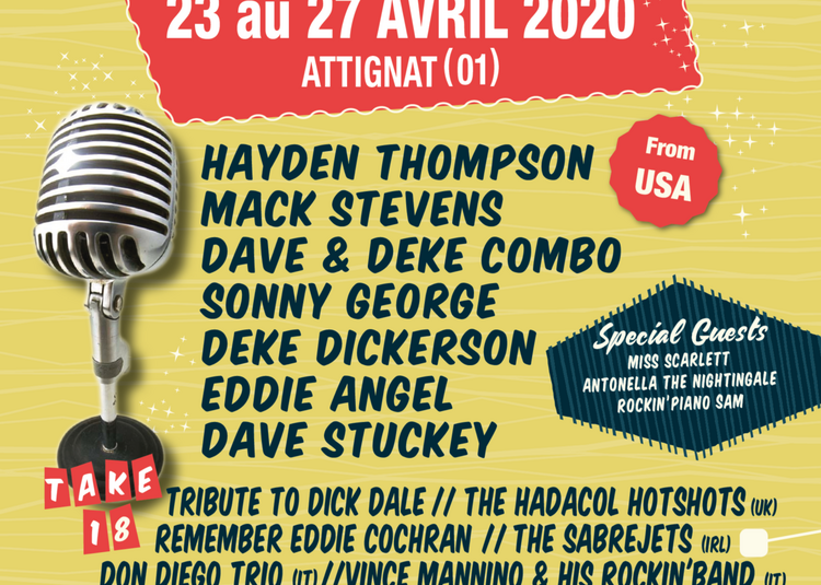 GOOD ROCKIN' TONIGHT #18 - PASS 1 JOUR - MACK STEVENS - DEKE DICKERSON à Attignat