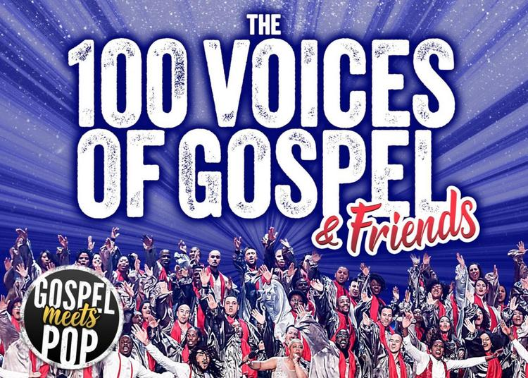 Gospel Pour 100 Voix - World Tour 2021 à Nancy