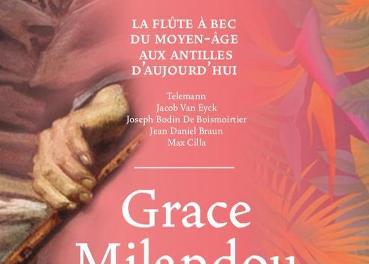 Grace Milandou à Paris 7ème