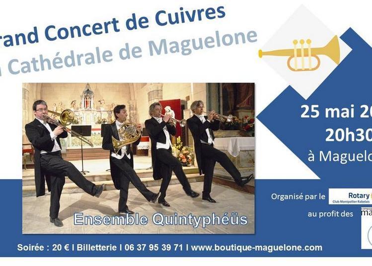 Grand Concert de Cuivres en la Cathédrale de Maguelone à Palavas les Flots