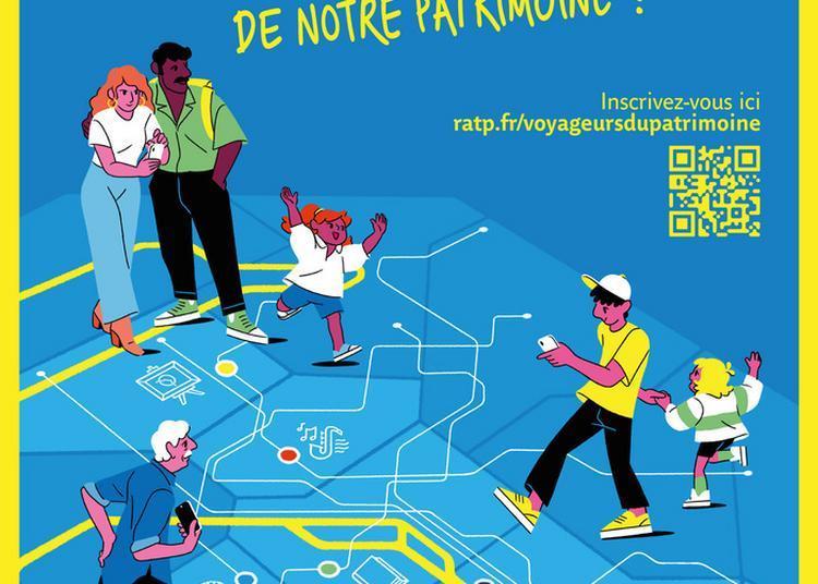 Grand Jeu Ratp #voyageursdupatrimoine à Paris 12ème