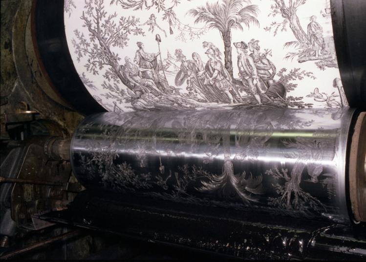 Grandes Inventions Picardes Dans Le Domaine Du Textile, Tissage, Velours, Et La Machine à Imprimer En Continu La Toile De Jouy Avec Rouleaux à Amiens