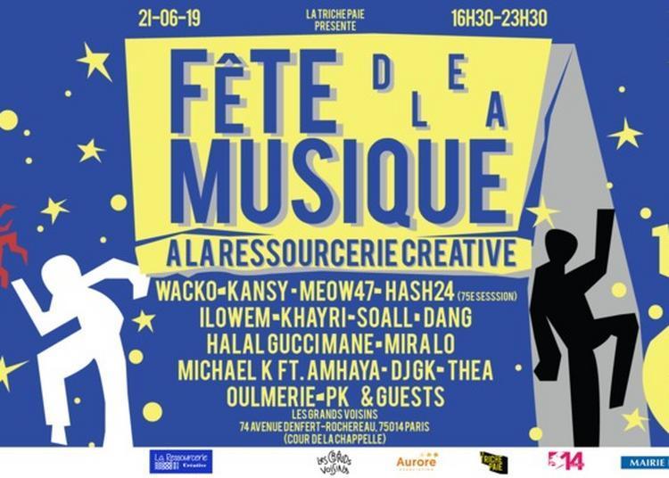 Grands Voisins, La Ressourcerie Créative & Wacko à Paris 14ème