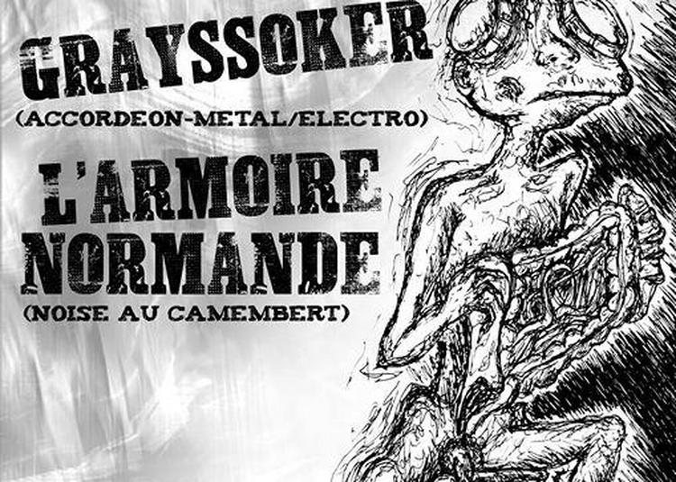 Grayssoker + L'armoire Normande à Marseille
