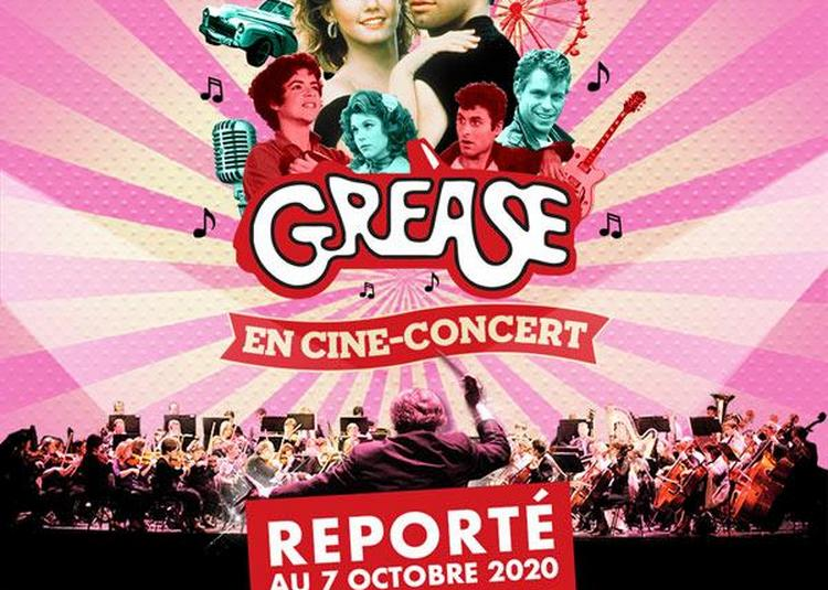Grease en ciné concert - report à Lille