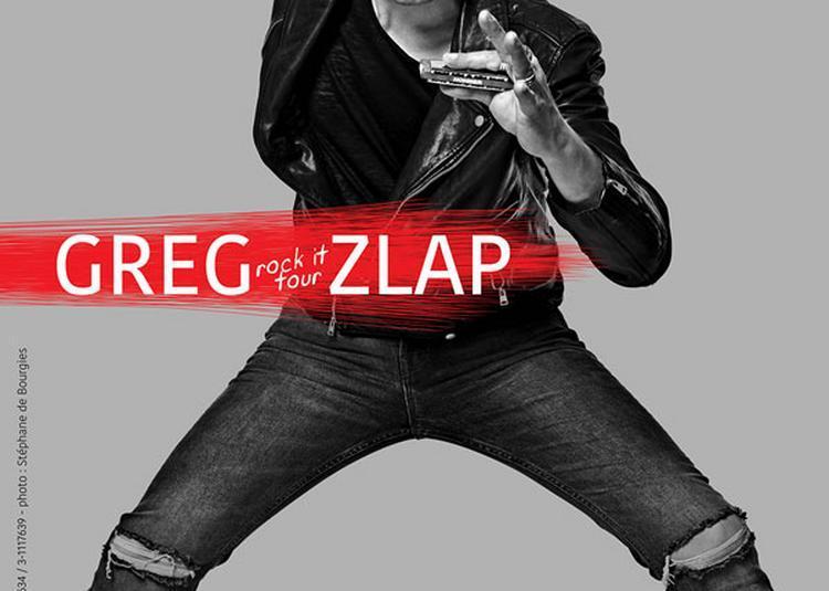 Greg Zlap - report à Lille