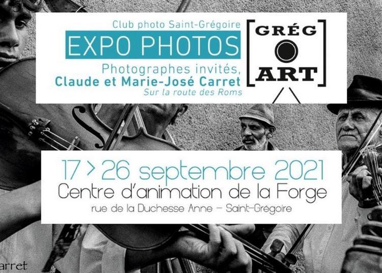 Grégo' Art -  L'exposition du Club Photo à Saint Grégoire à Saint Gregoire