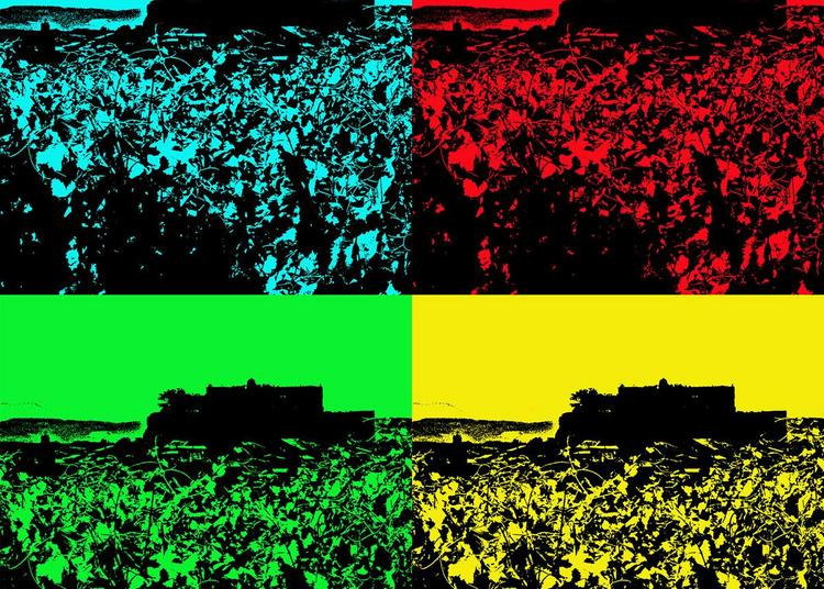 Série : représentations du château de Grignan