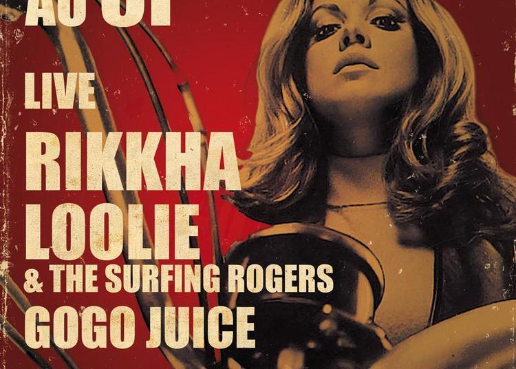 Grindhouse au 3P avec Loolie & The Surfing Rogers, Rikkha et Gogo Juice à Rouen