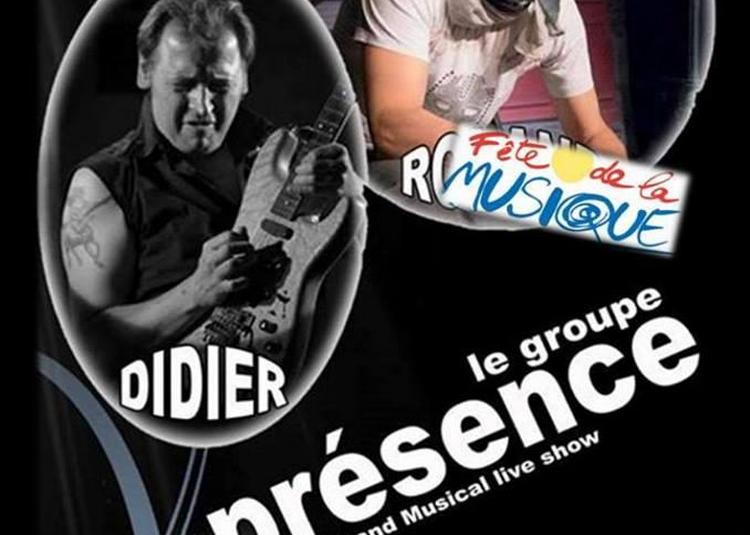 Groupe Présence (Fête de la Musique 2018) à Cormontreuil