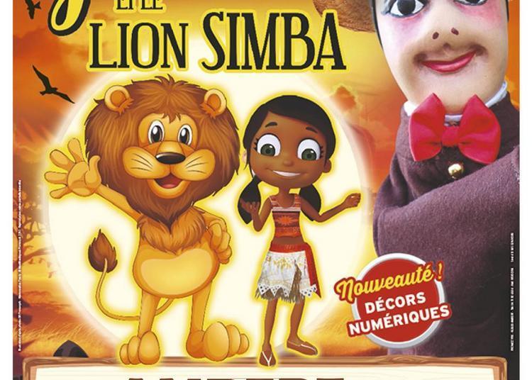 Guignol et le Lion Simba à Ambert