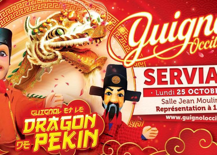 Guignol Occitanie et le Dragon de Pékin à Servian