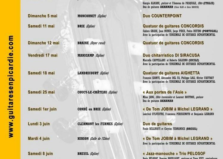 Guitares en Picardie 2019