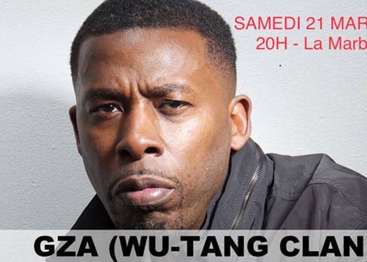 Gza (wu-Tang Clan) à Montreuil