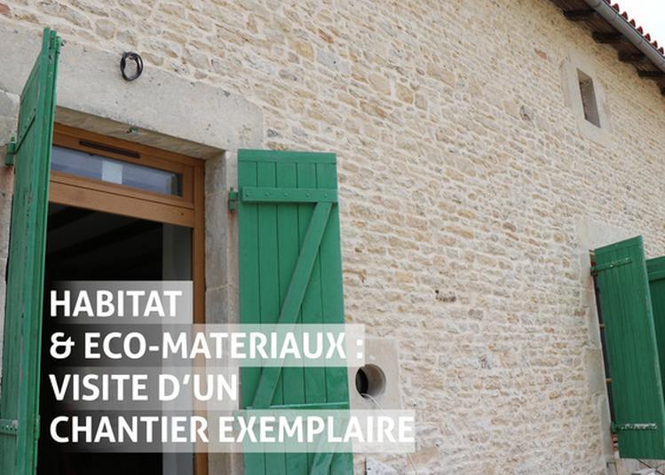 Habitat & Éco-matériaux : Visite D'un Chantier Exemplaire à Blanzay