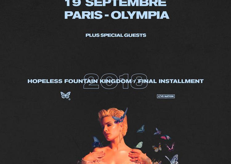 Halsey à Paris 9ème
