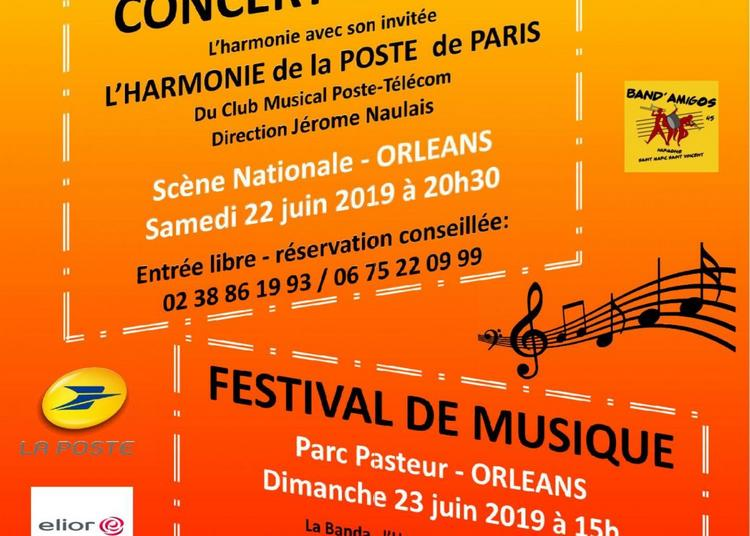 Harmonie St Marc St Vincent 140 ans à Orléans