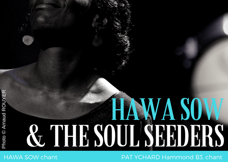 Hawa Sow And The Soul Seeders à Paris 14ème