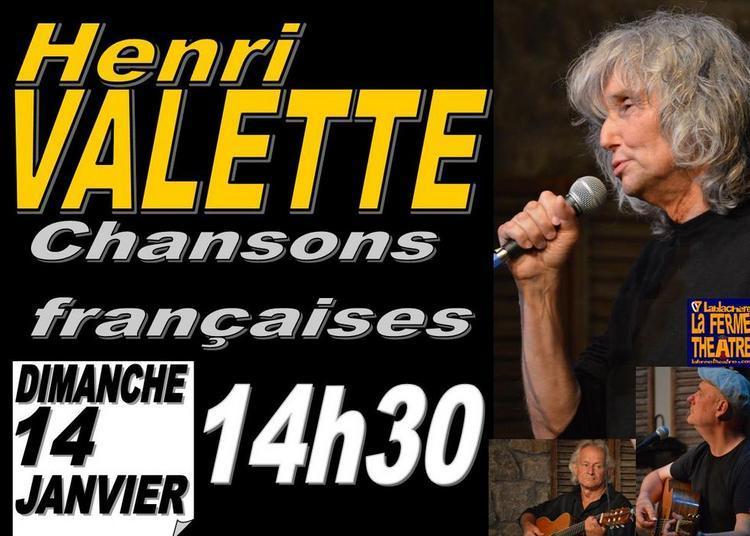 Henri Valette à Lablachere