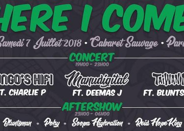 Here I Come: Manudigital, Mungo's Hifi, Taiwan Mc, Charlie P à Paris 19ème
