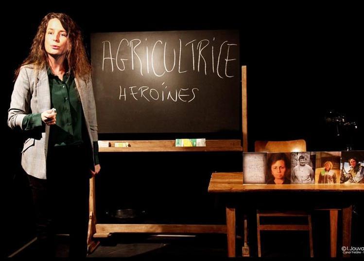 Héroïnes/Cie On t'a vu sur la pointe à Landerneau