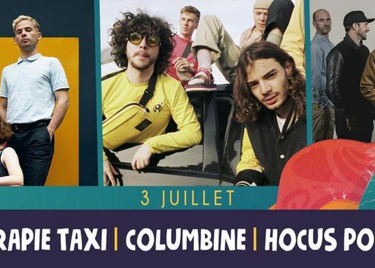 Therapie Taxi, Columbine,Hocus Pocus à Saint Malo du Bois