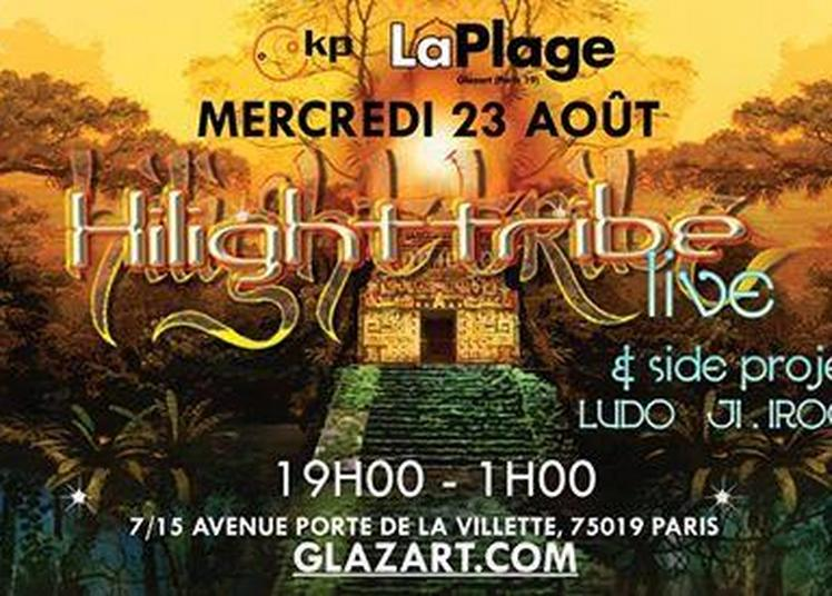Hilight Tribe & Side Projects - Laplage De Glazart à Paris 19ème