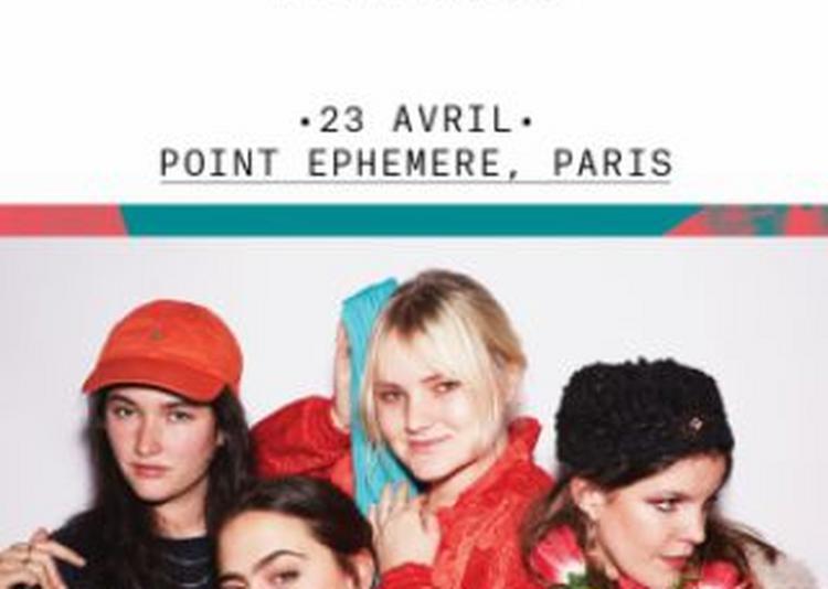Hinds à Paris 10ème