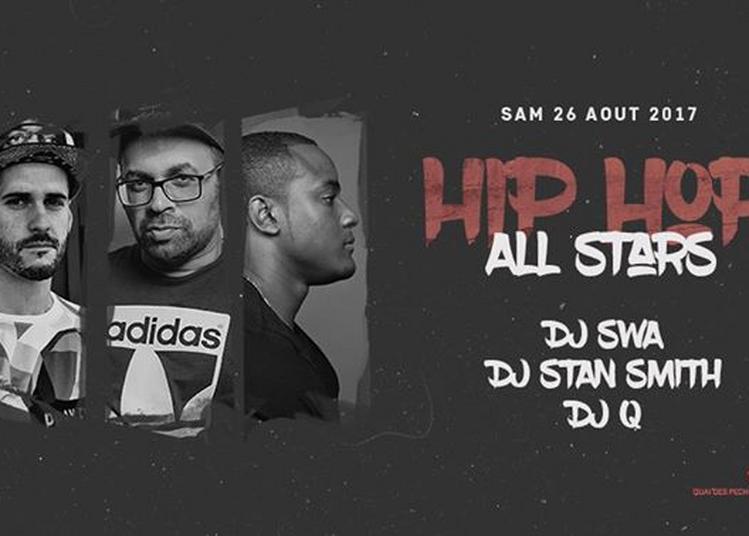 Hip Hop - All Stars w/ DJ Swa, DJ Stan Smith, DJ Q à Strasbourg