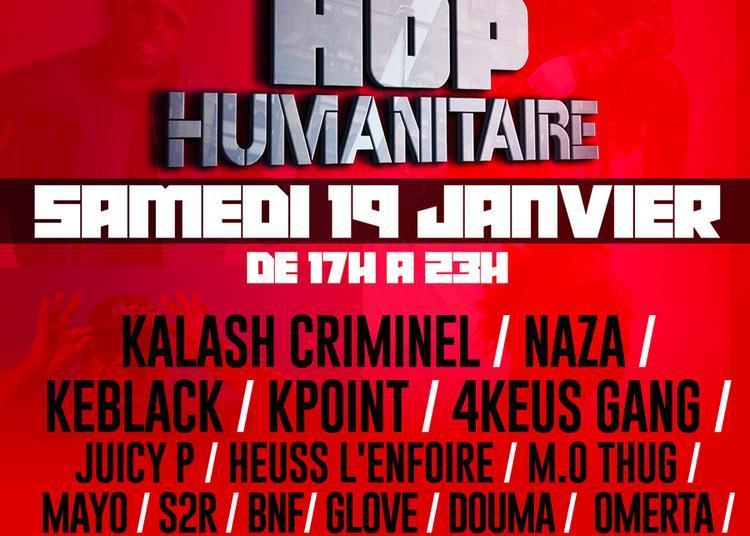 Hip Hop Humanitaire : Kalash Criminel + Naza + Keblack + 4keus Gang + Kpoint... à Ris Orangis