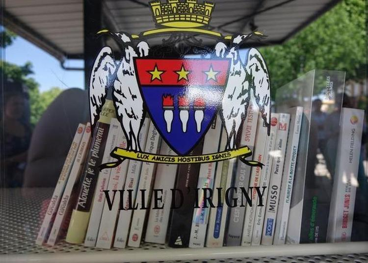 Histoire D'eau À La Boite À Lire De Billon à Irigny