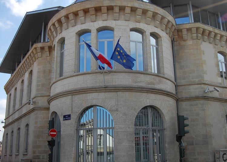 Histoire Du Bâtiment De La Première Gare De Bordeaux À La Direction Interrégionale Des Services Pénitentiaires De Bordeaux