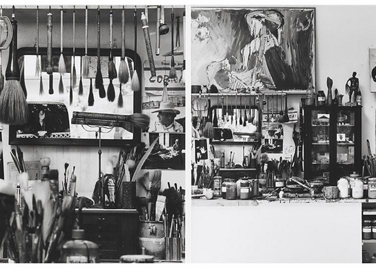 Histoires d'ateliers, de Courbet à Soulages à Ornans