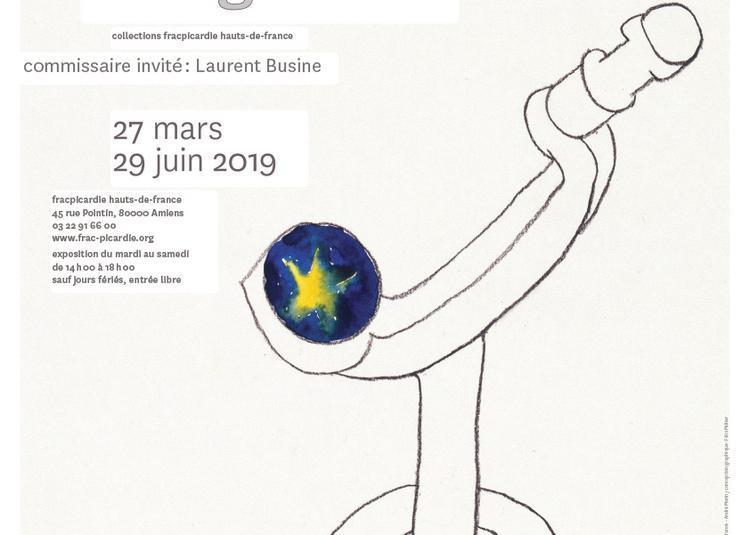 Histoires de dessins - le hasard & le vagabond - rencontre avec Laurent Busine à Amiens