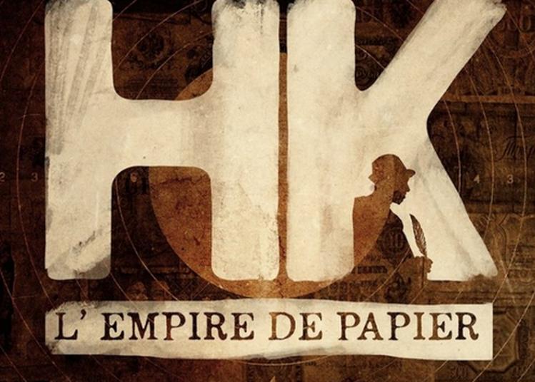 HK L'Empire De Papier à Barjac