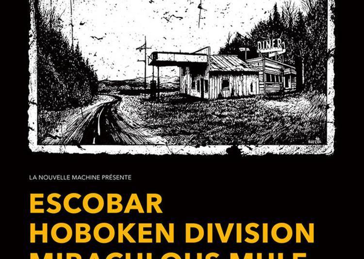 Hoboken Division + Escobar à Paris 18ème