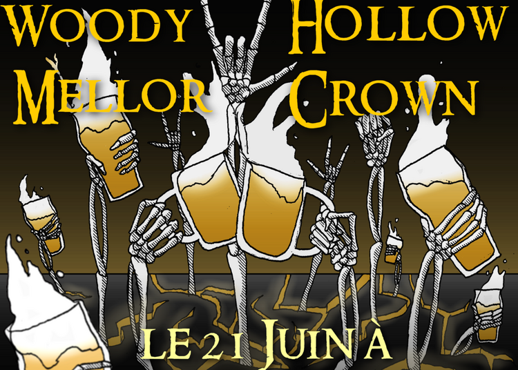 Hollow Crown // Woody Mellor à Rouen
