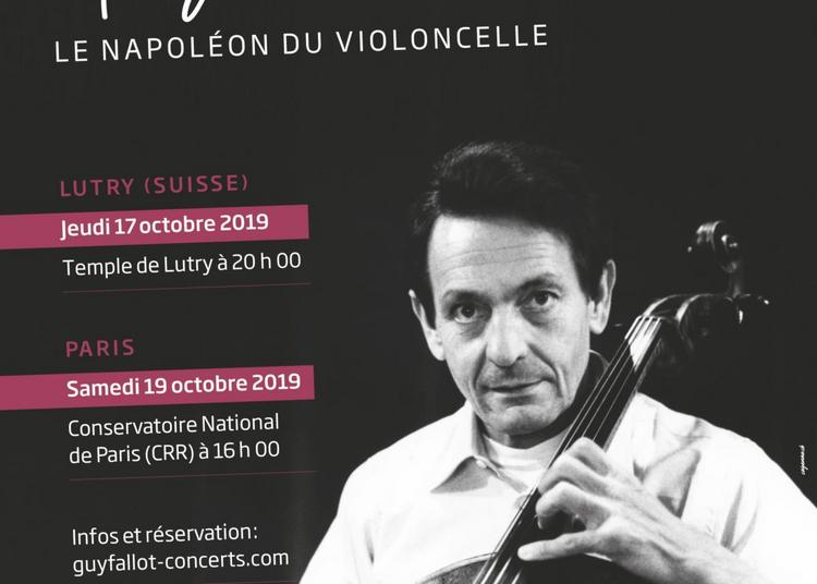 Hommage à Guy Fallot, le Napoléon du violoncelle à Paris 8ème
