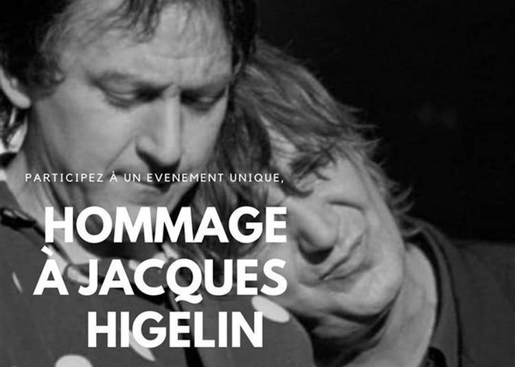 Hommage à Jacques Higelin à Paris 11ème
