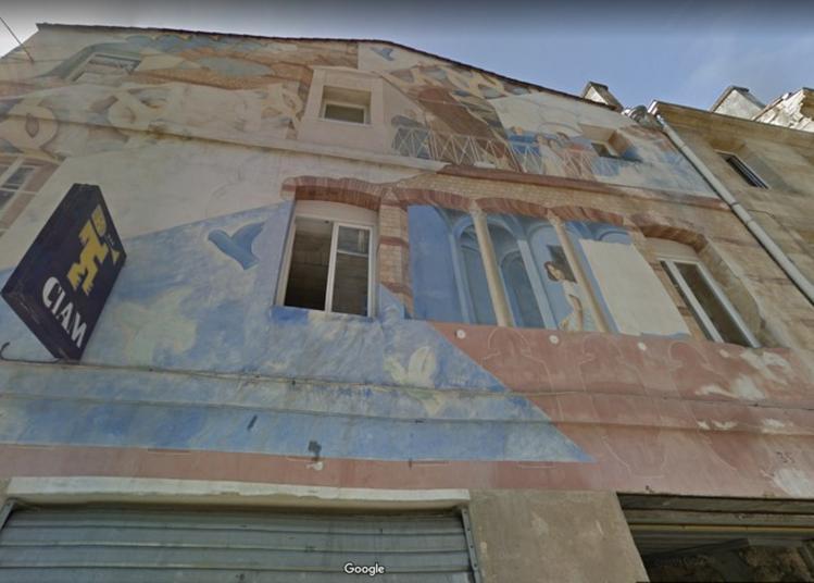 Hommage à Jean Sabrier : Découverte D'une Fresque ! à Bordeaux